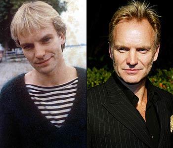 Sting выглядит почти также в 1979